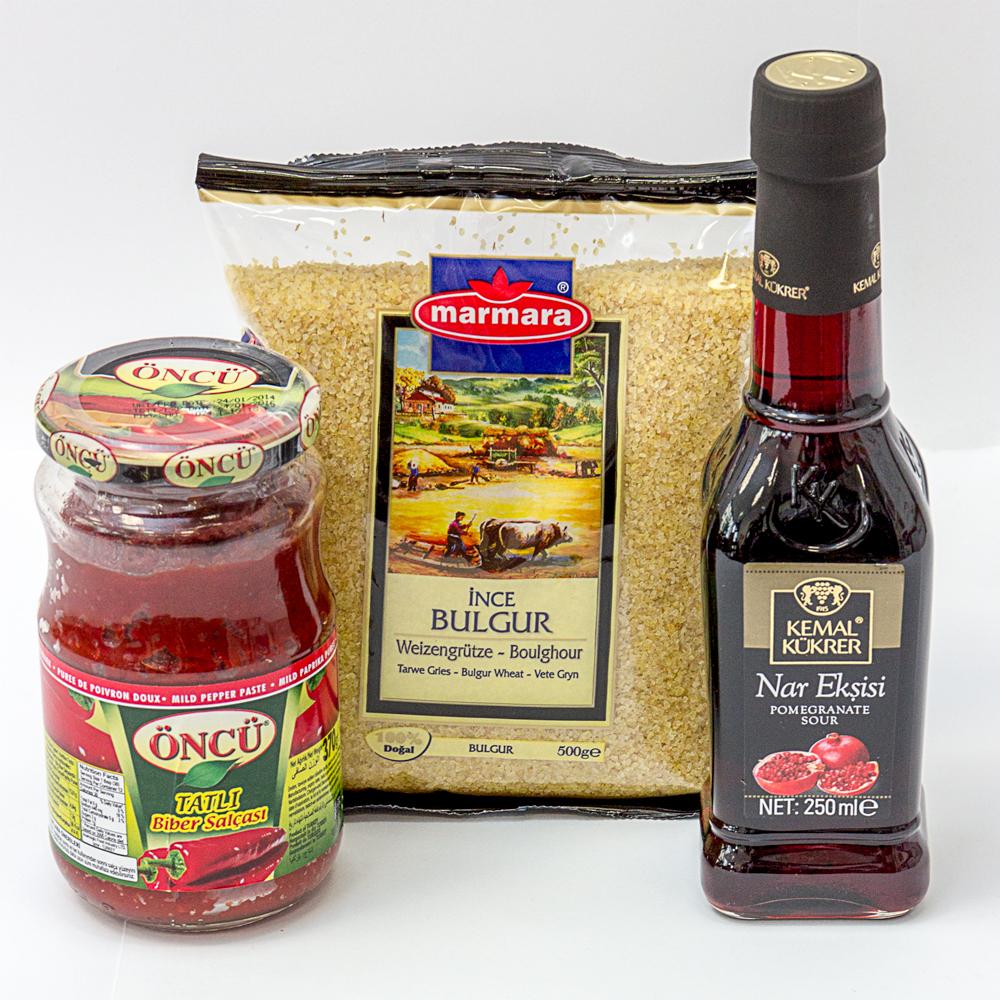 Türkenbeute ~ Rezept-Tasche für Kısır ~ Türkischer Bulgursalat ~ Der ...