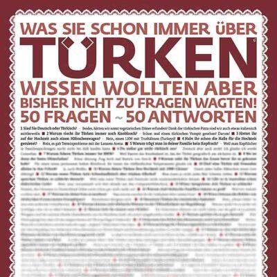 Poster * 50 Türken-Fragen *