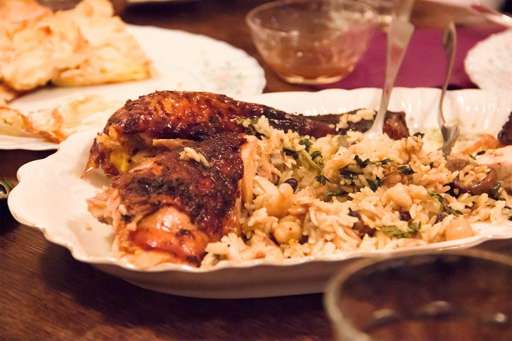 Türkische Weihnacht mit einem Kapaun-Alaturka ~ Rezept