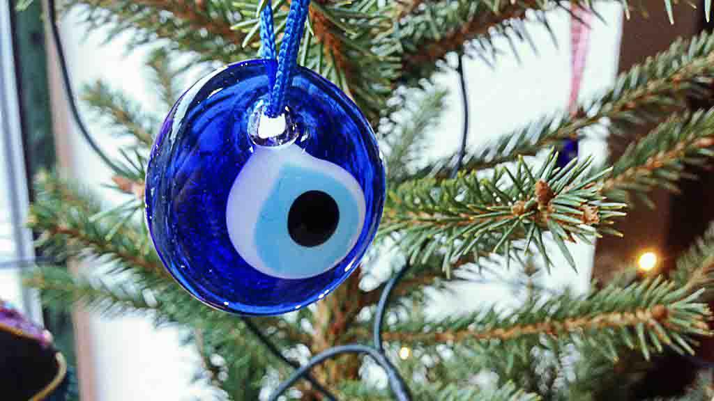 Das blaue Auge