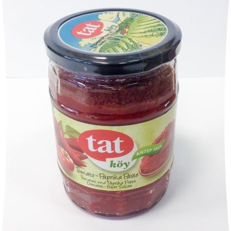 TAT KÖY - Tomaten-Paprikamarkpaste scharf - domates acı biber salçası