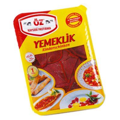 Öz Kayseri Pastırma yemeklik - Rinderdörrfleisch nach türkischer Art