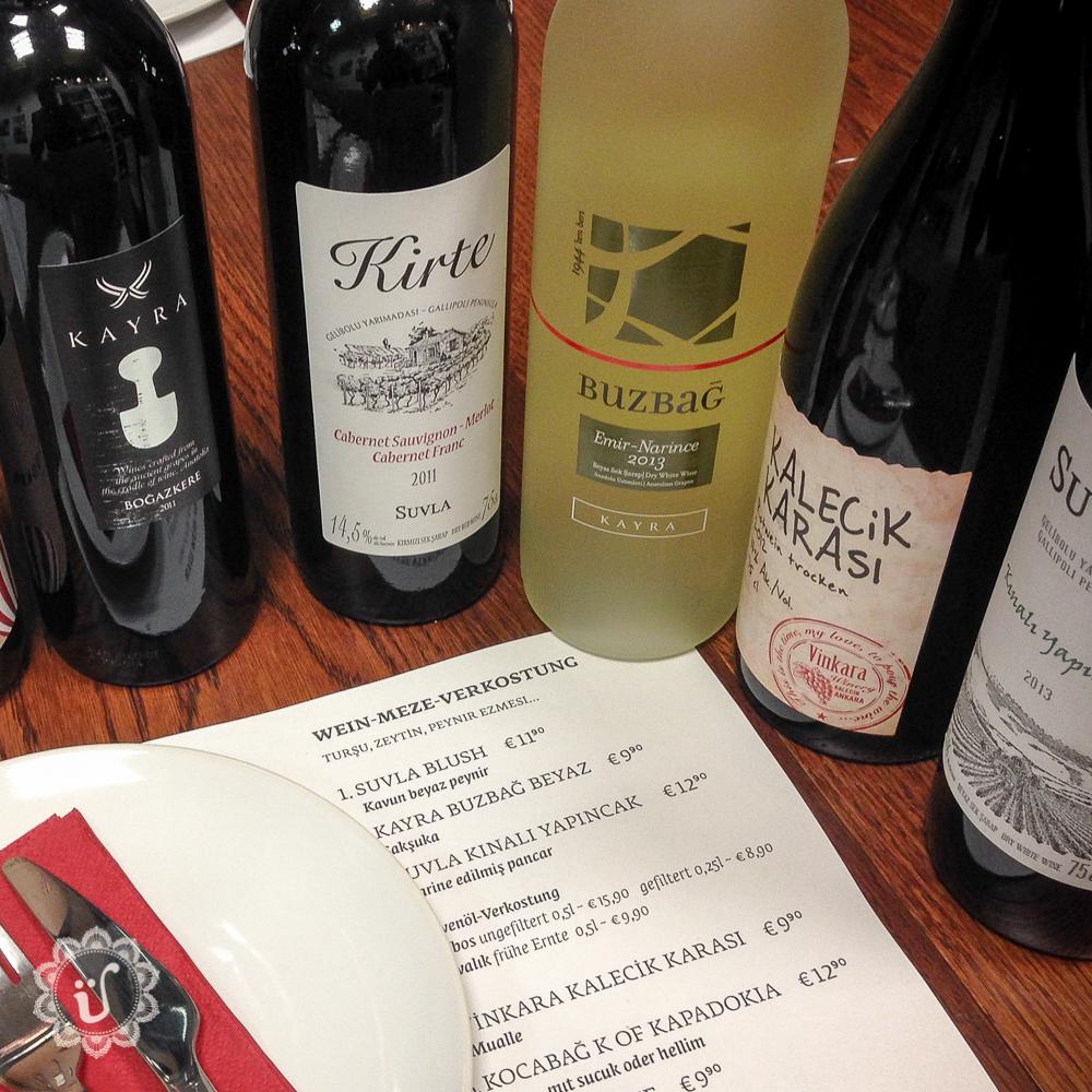 Termine Wein-Verkostungen mit Meze-Begleitung