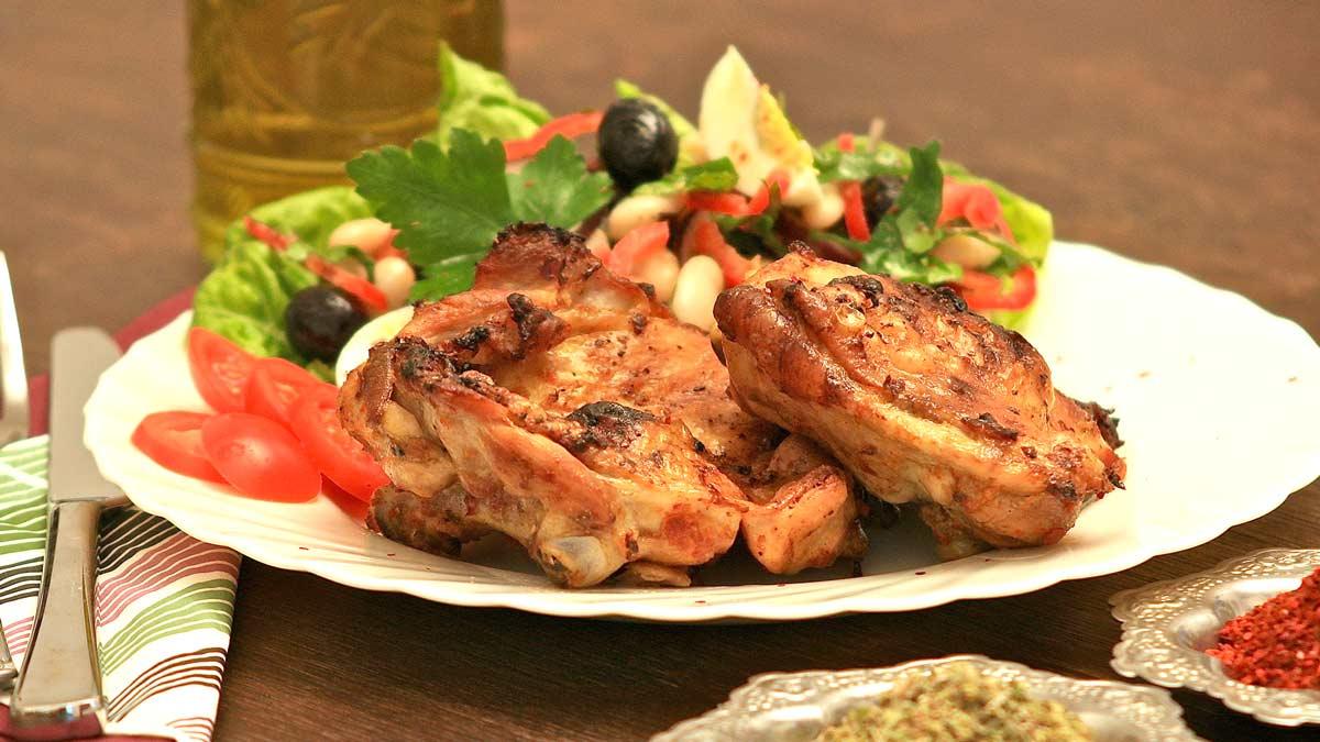 Tavuk pirzola ~ Hähnchen Koteletts im Ofen Rezept KochDichTürkisch