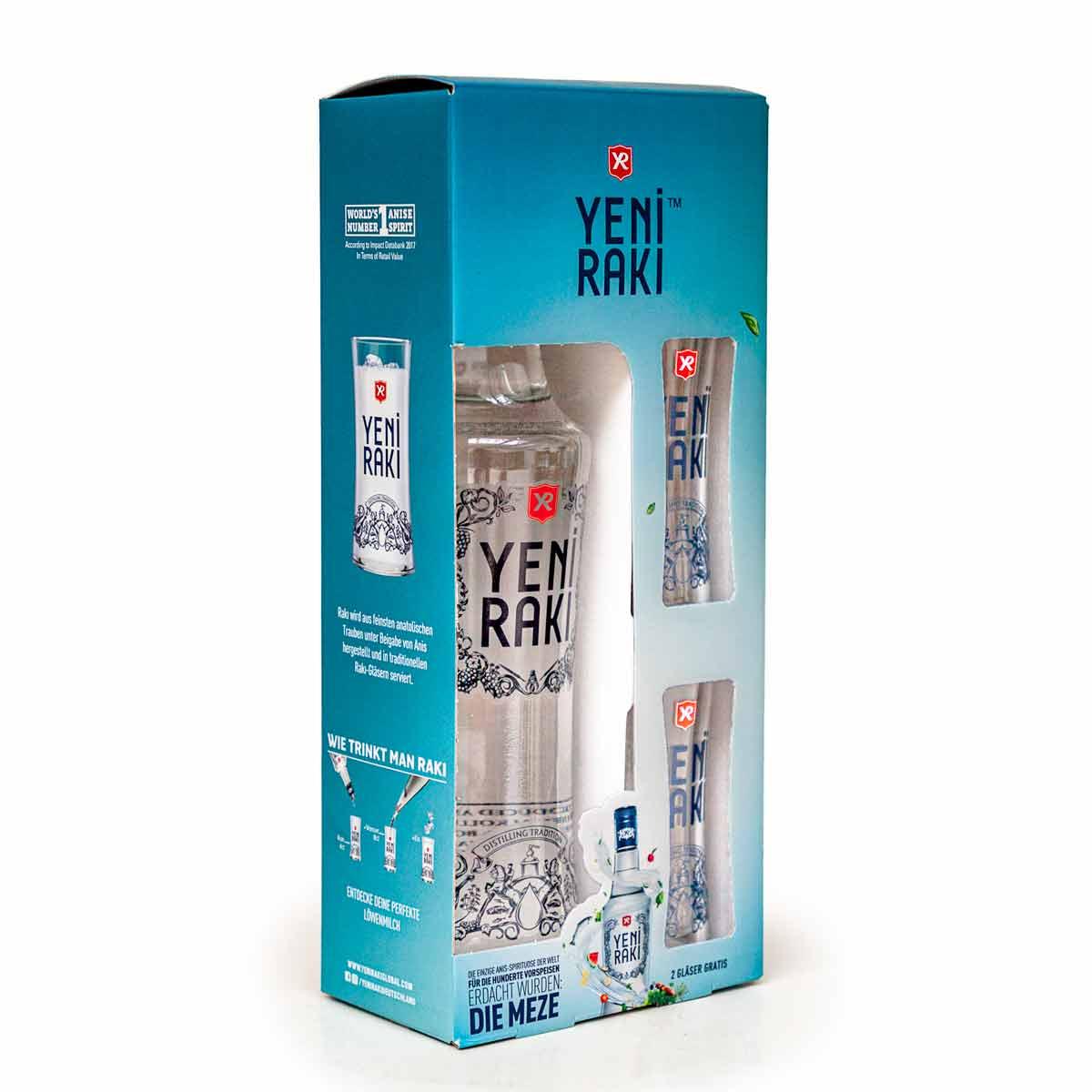 Yeni Rakı - Geschenkset mit 2 Gläsern