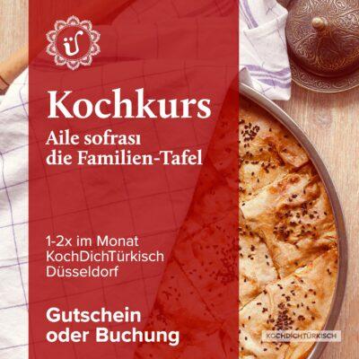 Kochkurse die türkische Familien Tafel