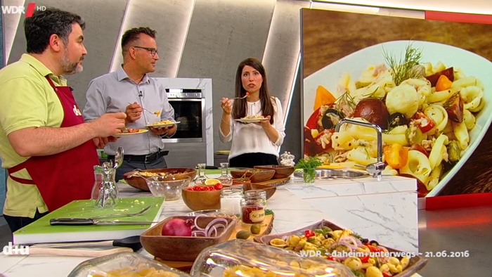 *lauwarmer Nudelsalat a la Turka* ~ ılık makarna salatası ~ Rezept & TV