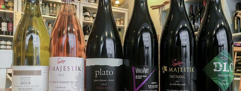 Meze-Weinverkostung