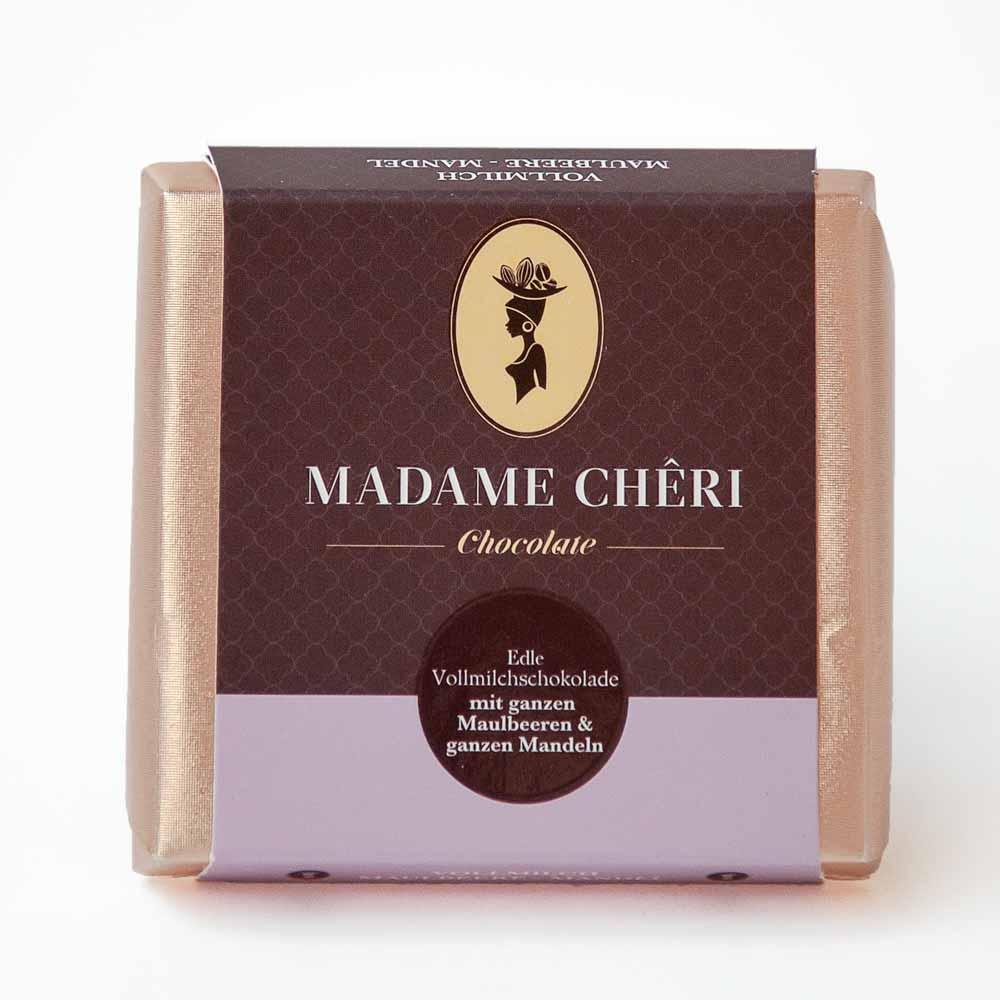 Madame Chêri - Vollmilch Maulbeere Mandel
