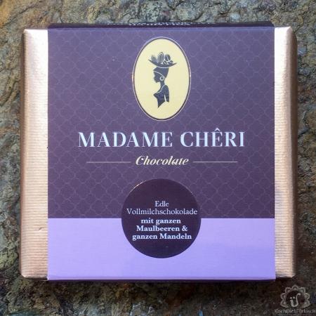 Madame Cheri Vollmilch Maulbeere Mandel