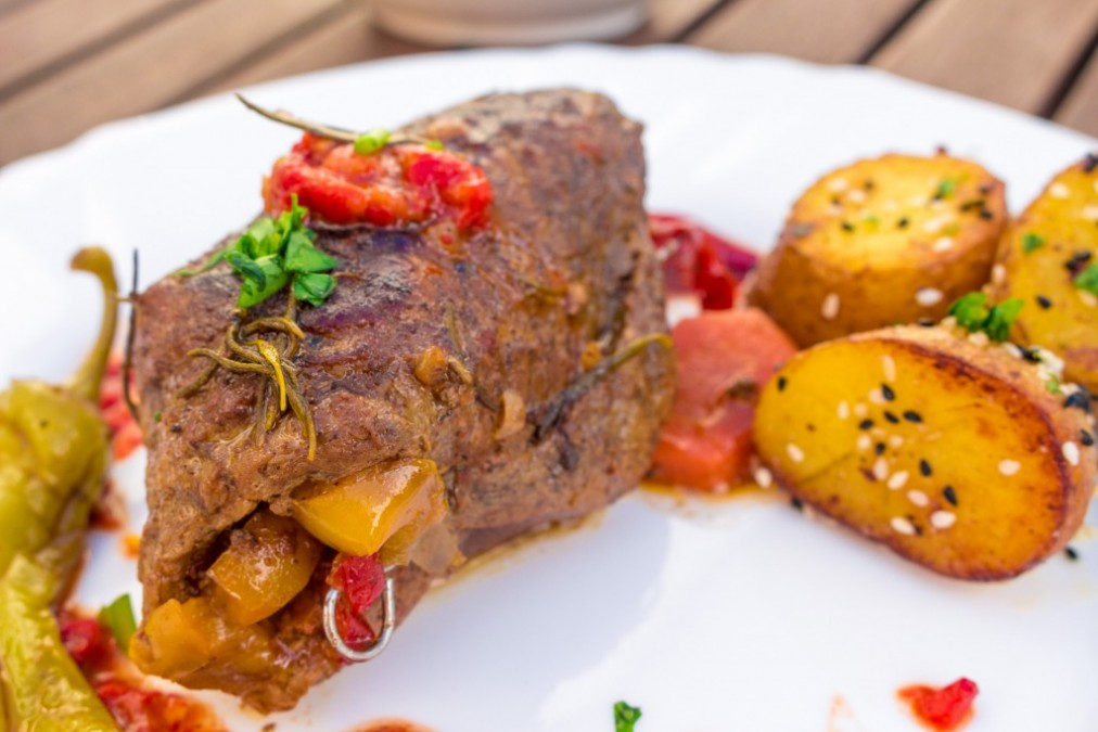 Rinder-Roulade auf Türkisch