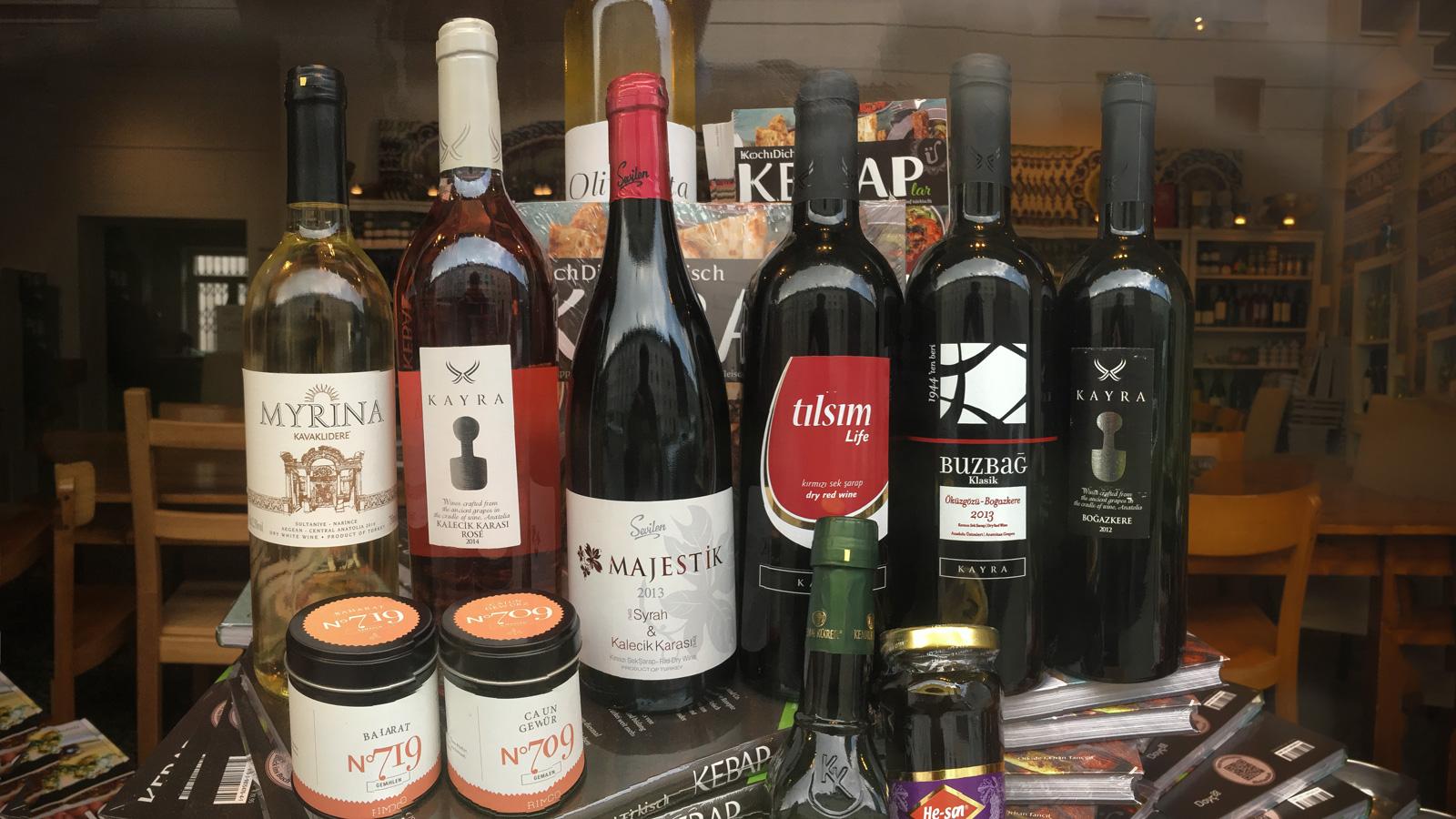Türkische Rakı- und Wein-Wochen, neue Rezepte