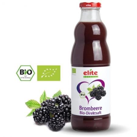 ELITE NATUREL - Brombeere Bio-Direktsaft - böğürtlen suyu