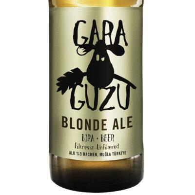 gara guzu blonde ale etikett