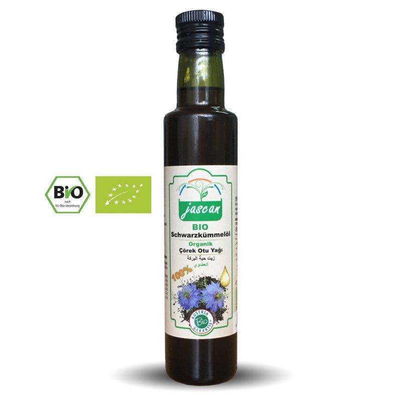 Jascan - Bio Schwarzkümmelöl - çörek otu yağı
