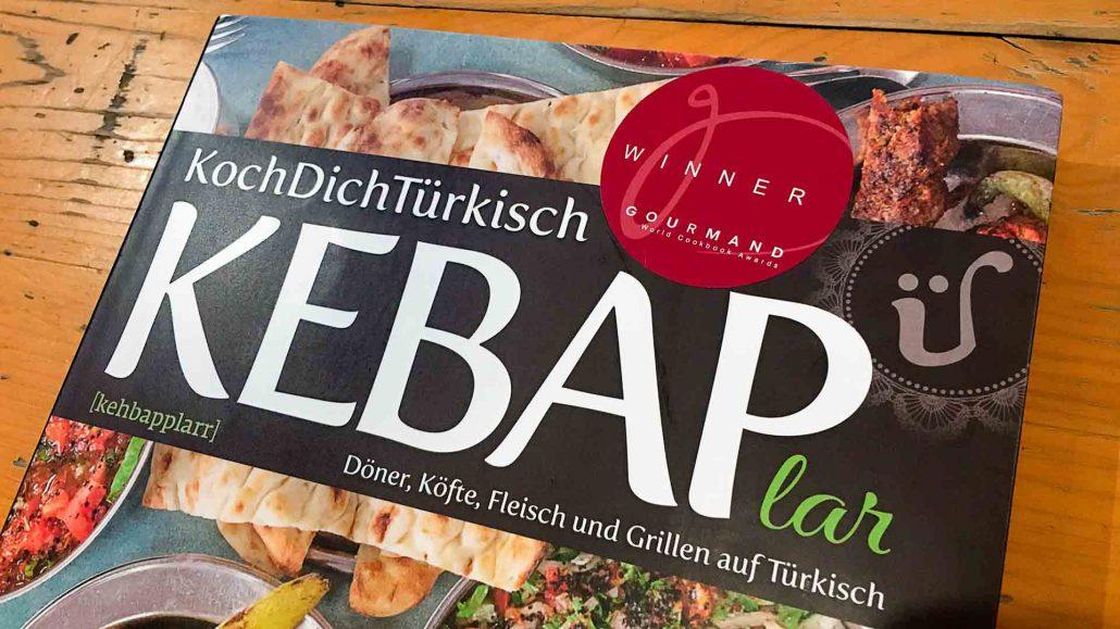 Kebap Kochbuch Gourmand World Cookbook Award banner