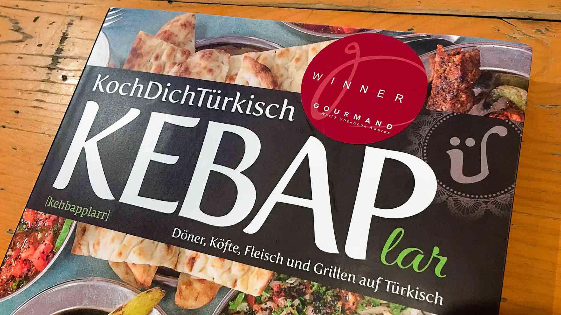 KEBAPlar ~ das beste Fleisch-Kochbuch Deutschlands laut Gourmand World Cookbook Award