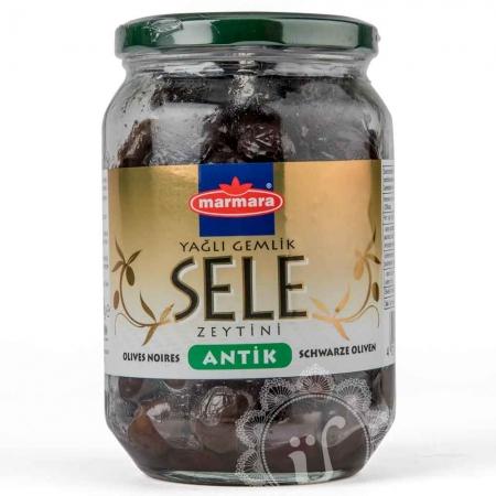 MARMARA - Schwarze Oliven in Salzlake - siyah sele zeytin