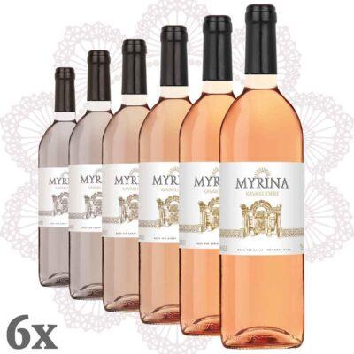 Kavaklıdere - Myrina Rosé 6er Pack