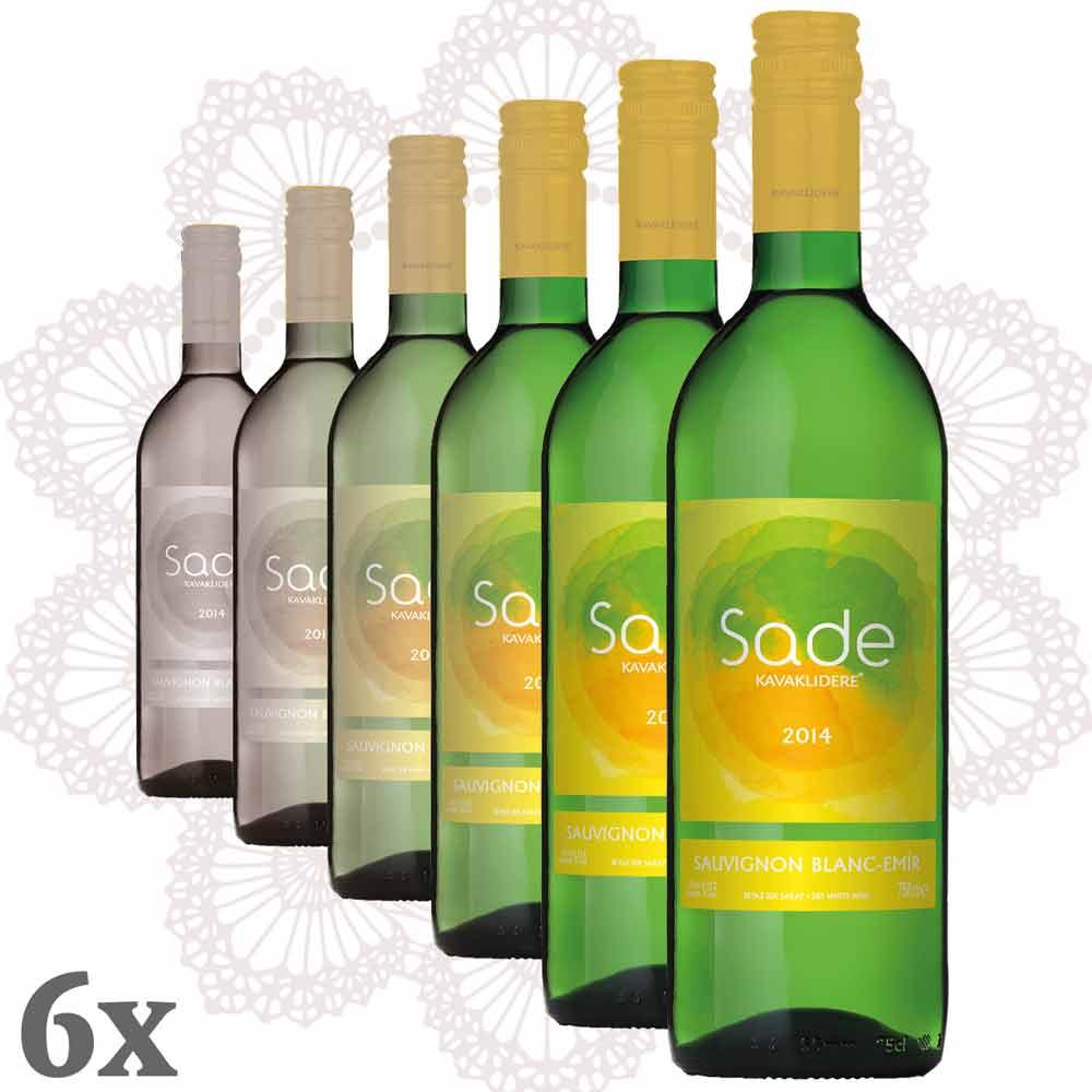 Kavaklıdere - Sade Emir-Sauvignon Blanc 6er Pack