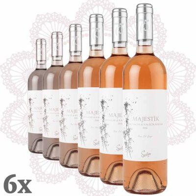 Sevilen Majestik Rosé 6er Pack Grenache-Kalecik Karası