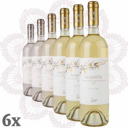 SEVILEN Majestik Sauvignon Blanc-Sultaniye 6er-Pack