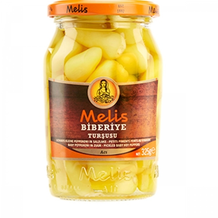 MELIS - Scharfe Mini-Peperoni klein - biberiye turşusu