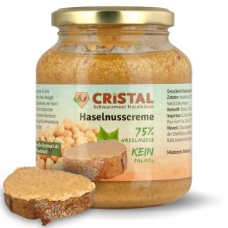 CRISTAL - Haselnusscreme - fındık ezmesi
