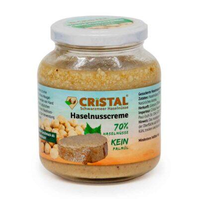 cristal haselnusscreme 300g