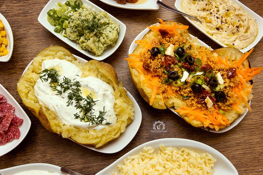 Kumpir - die türkische Backkartoffel