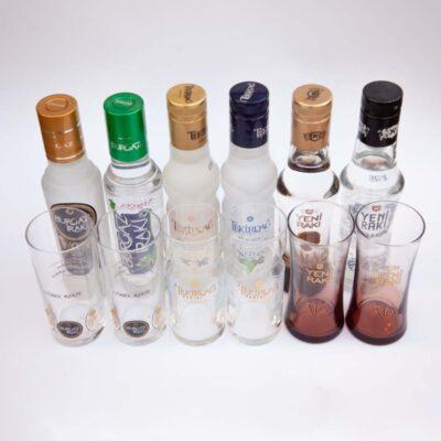 6flaschen 6glaeser