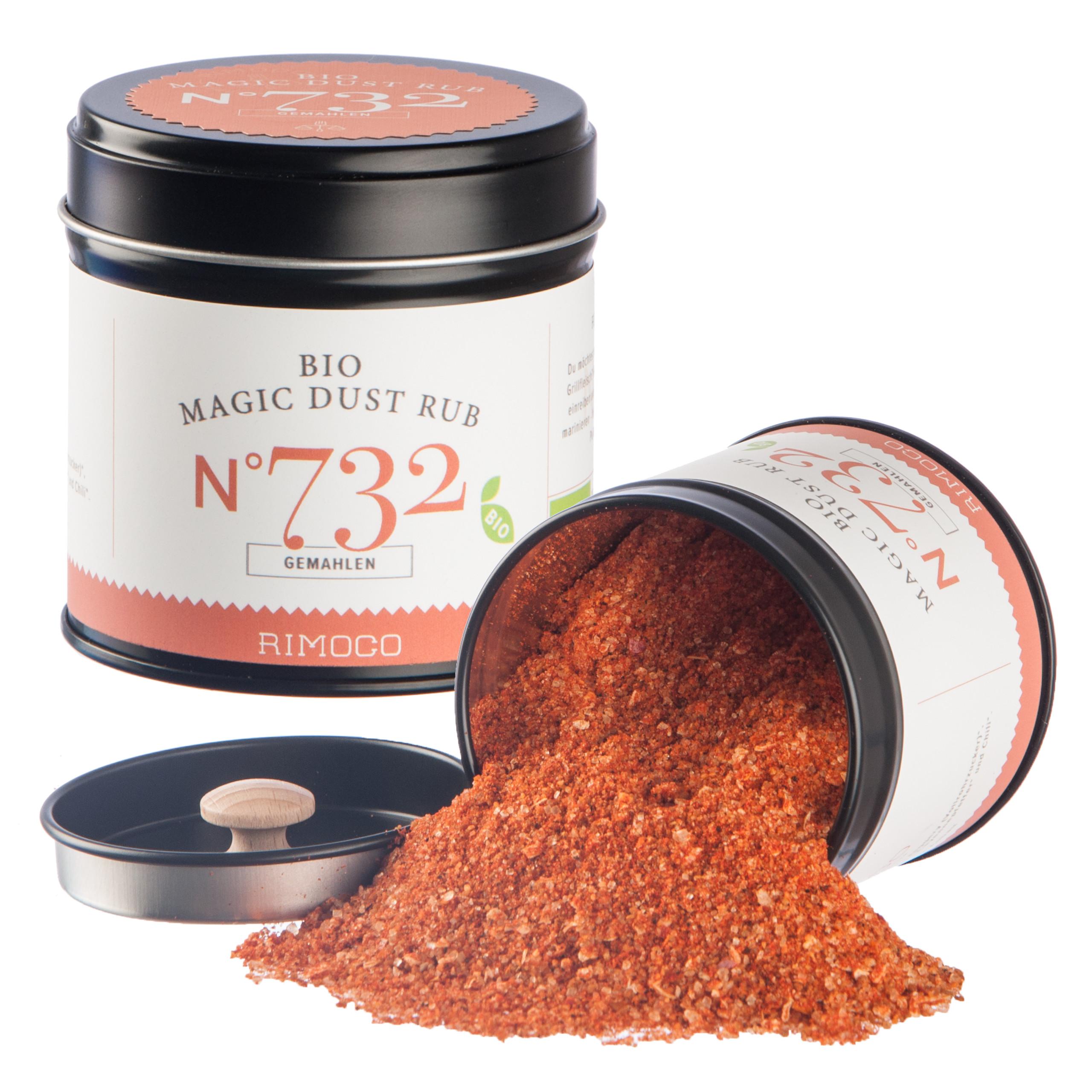 RIMOCO ~ Bio Magic Dust Rub ~ N°732 ~ Gewürzdose - 100g