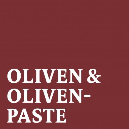 Oliven und Olivenpaste
