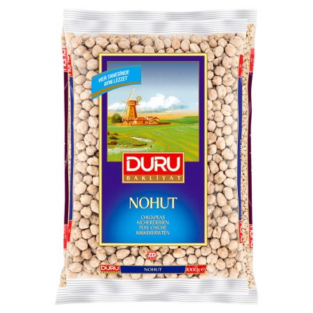 DURU Bakliyat - Kichererbsen groß - Iri Nohut