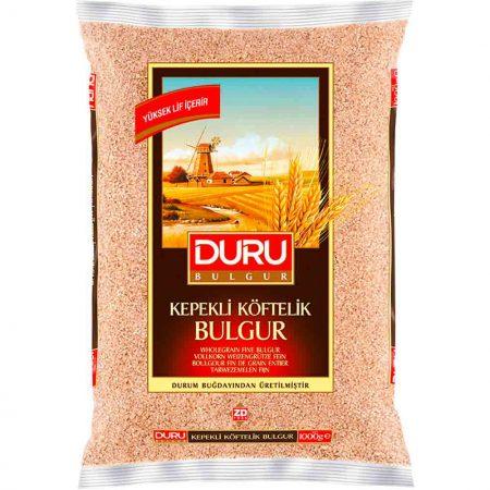 DURU Bulgur ~ Vollkorn Bulgur fein ~ Kepekli Köftelik