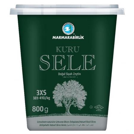 Marmarabirlik - Schwarze Oliven getrocknet - Kuru Sele Zeytin
