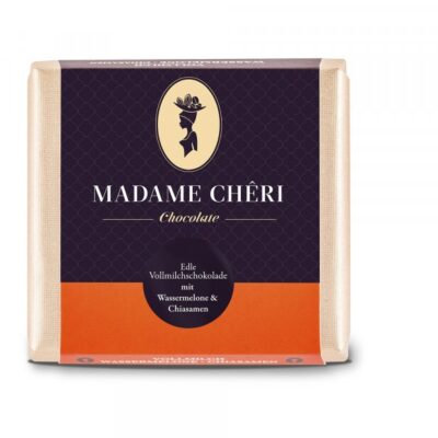 Madame Chêri - Vollmilch Wassermelone und Chia-Samen