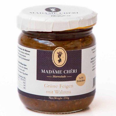 Madame Chêri - Grüne Feigenmarmelade mit Walnuss - incir ceviz reçeli