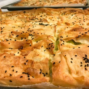 Börek mit Zucchini