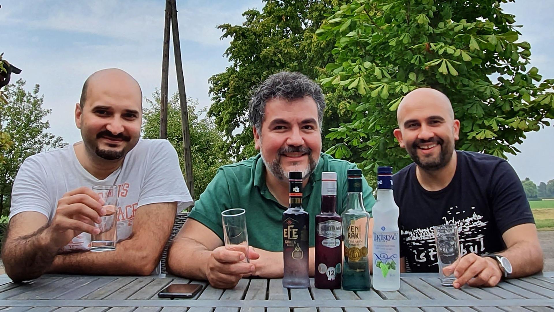 Rakı Tasting ~ wir verkosten türkischen Traubenbrand