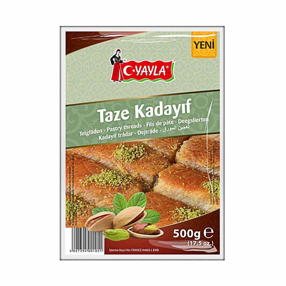 Taze Kadayıf - Engelshaar - frische Teigfäden