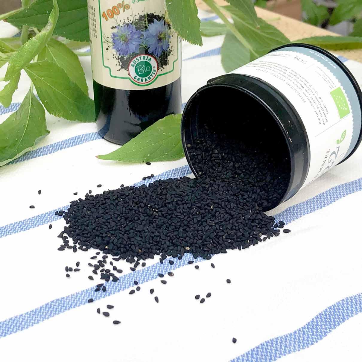Schwarzkümmel, Nigella, Samen, schwarze, Nigella Sativa, Çörek otu