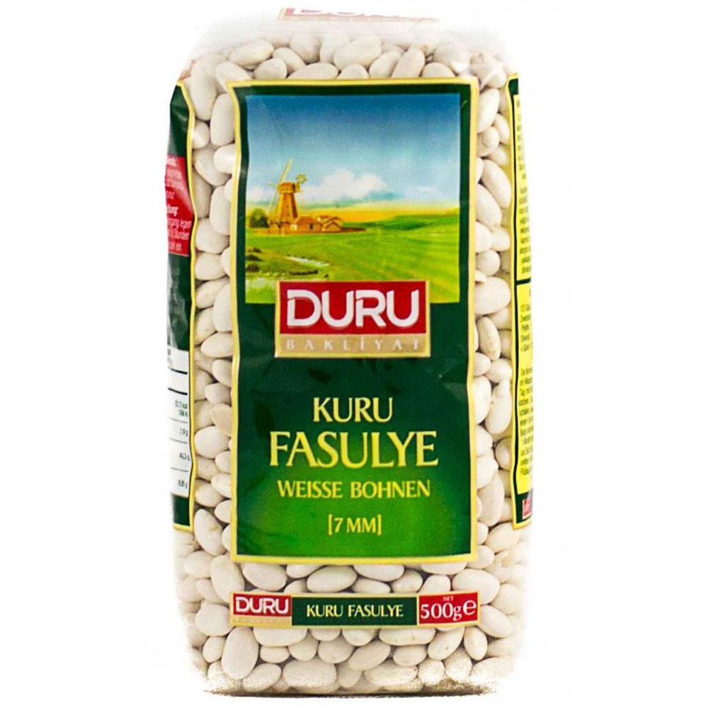 DURU Bakliyat ~ Weiße Bohne 7 mm ~ Kuru Fasulye