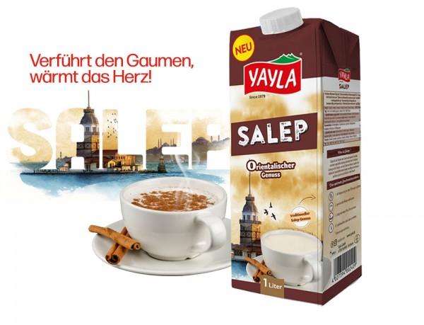 Salep /Sahlep ist ein wärmendes, türkisches Wintergetränk auf Milchbasis