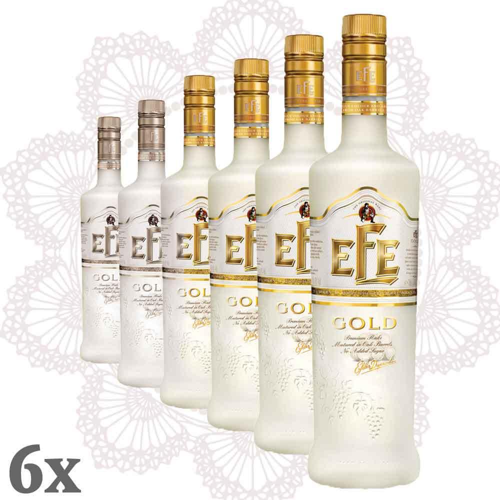 Efe Rakı Gold 6er-Pack