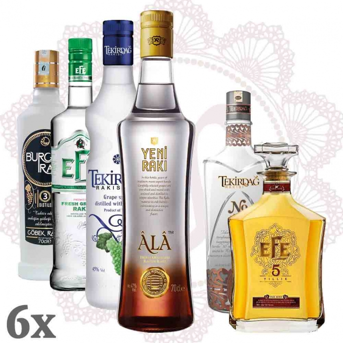 Best of Rakı Sparpaket