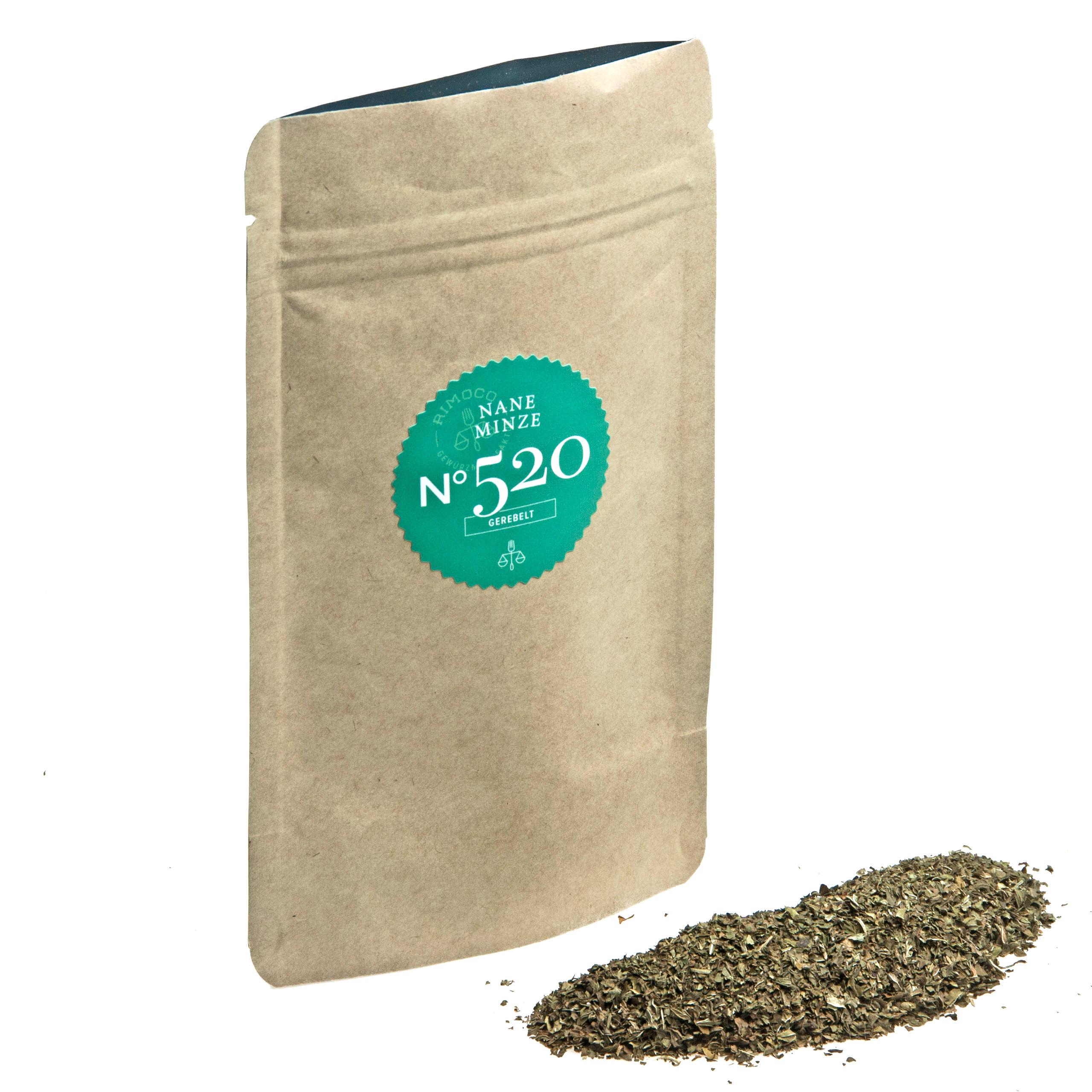 Rimoco Bio Nane Minze Nachfüllpack gerebelt