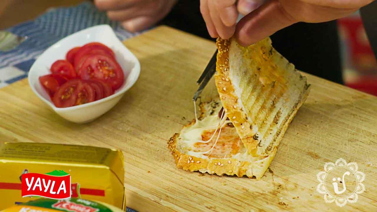 *Ayvalık tost* ~ Türkischer Toast wie in Ayvalık ~ Rezept & Video
