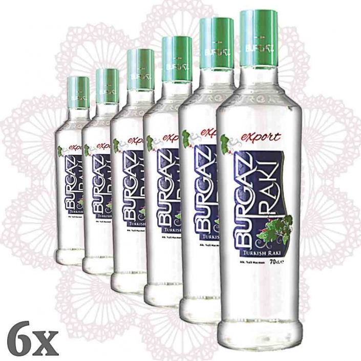 Burgaz Rakı Fresh Grape 6er-Pack