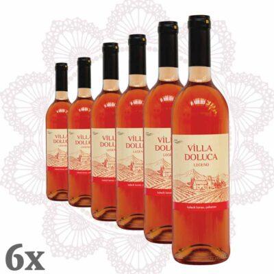 Villa Doluca - Legend Rosé 6er-Pack
